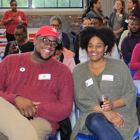 Equity Institute members attending an event